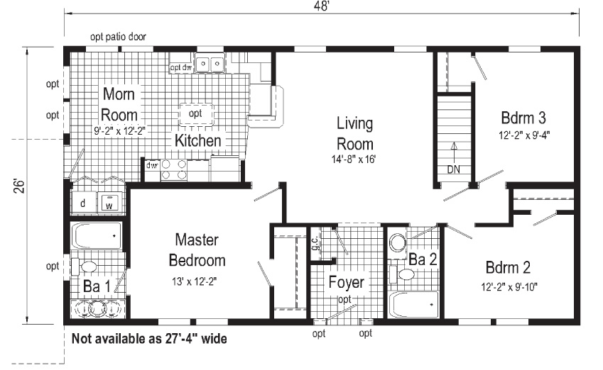 Tiffany Floorplan First Floor