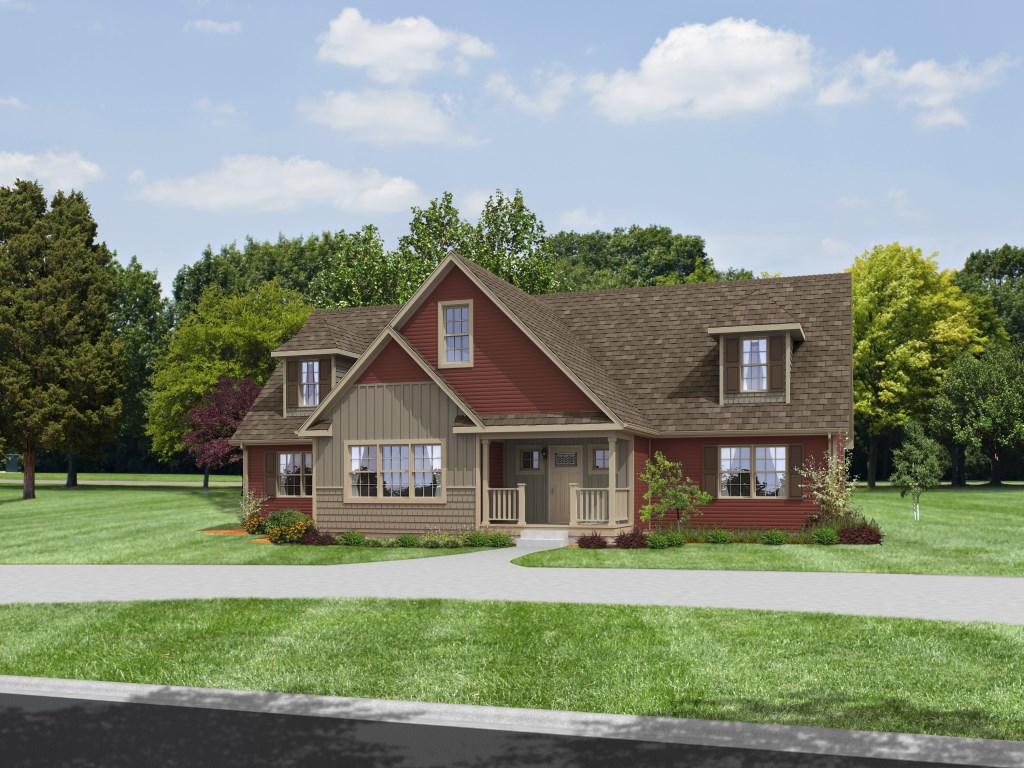 Canton peninsula homes for Custom ranch home builders maryland