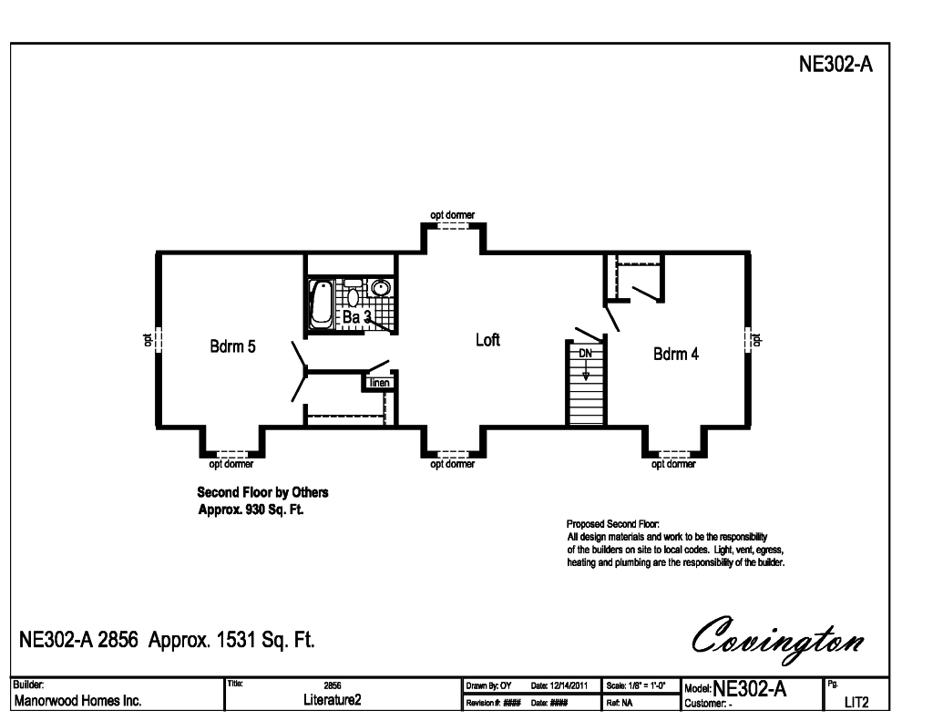 Covington Floor Plan Dr Horton Covington Ii Floor Plan