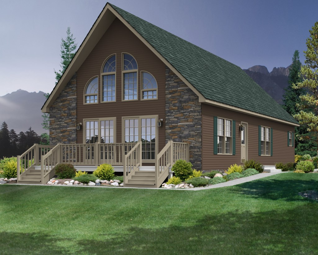 Homes peninsula homes for Chalet modular homes